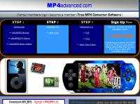 Downloads for PSP iPod MP4 player