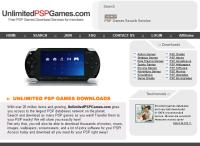 PSP Game Downloads